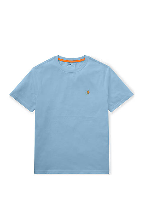 Ralph Lauren Childrenswear Boys 8-20 Cotton Jersey Crew