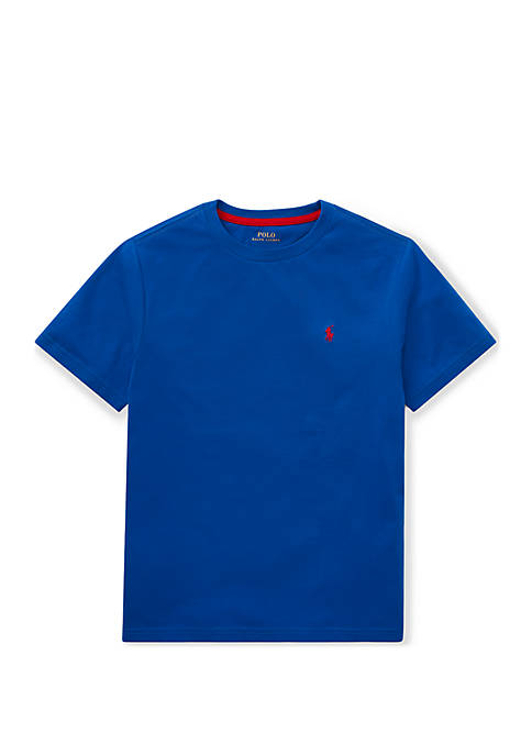 Boys 8-20 Cotton Jersey Crew Neck T-Shirt