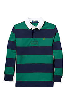 Boys 8-20 Striped Jersey Rugby Shirt