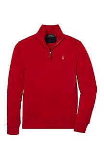 Boys 8-20 Cotton Half-Zip Pullover