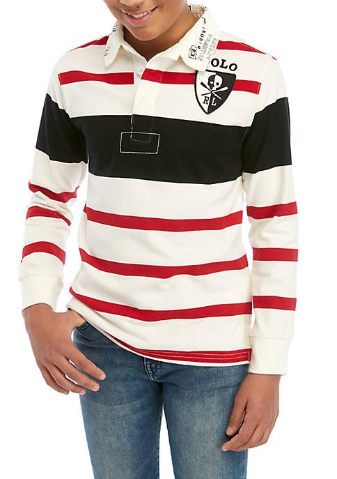 Ralph Lauren Childrenswear Boys 8-20 Jersey Rugby Shirt