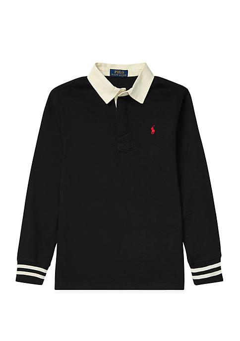 Ralph Lauren Childrenswear Boys 8-20 Cotton Jersey Rugby