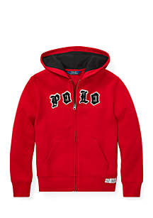 Boys 8 - 20 Cotton-Blend-Fleece Hoodie