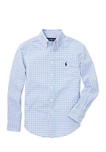 Ralph Lauren Childrenswear Boys 8-20 Cotton Poplin Sport Shirt