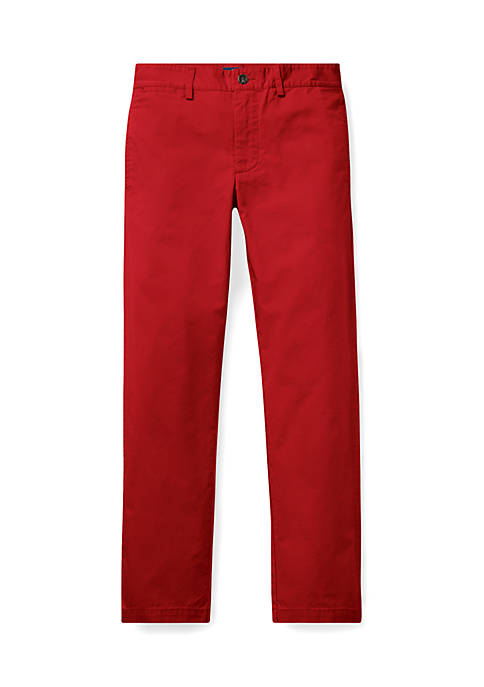 Ralph Lauren Childrenswear Boys 8-20 Cotton Chino Pants