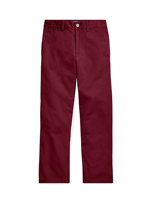 Boys 8-20 Slim Fit Cotton Chino