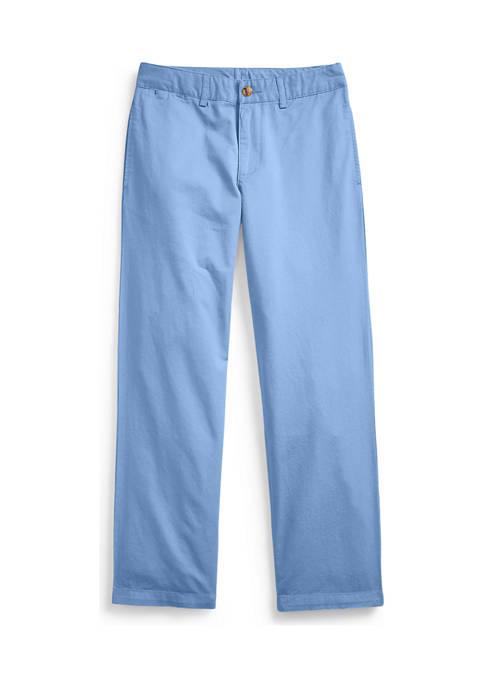 Ralph Lauren Childrenswear Boys 8-20 Cotton Twill Chino