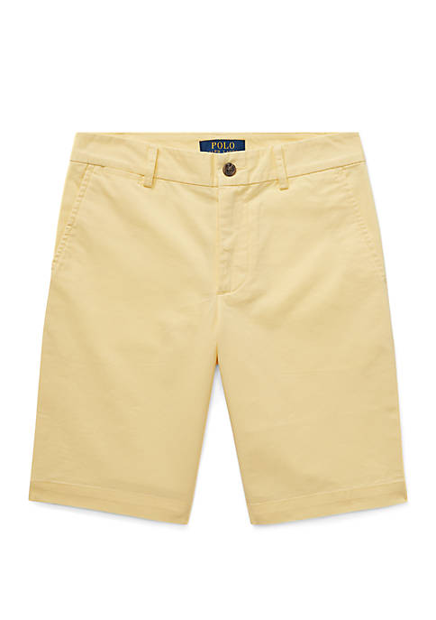 Ralph Lauren Childrenswear Boys 8-20 Cotton Chino Shorts