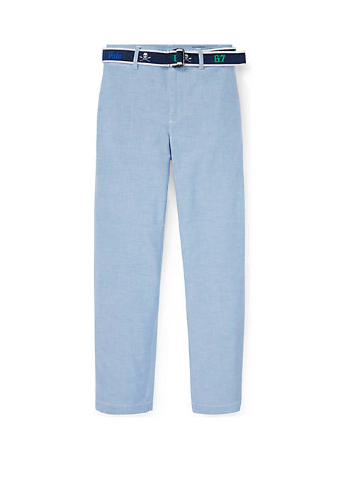 Ralph Lauren Childrenswear Boys 8-20 Belted Stretch Skinny