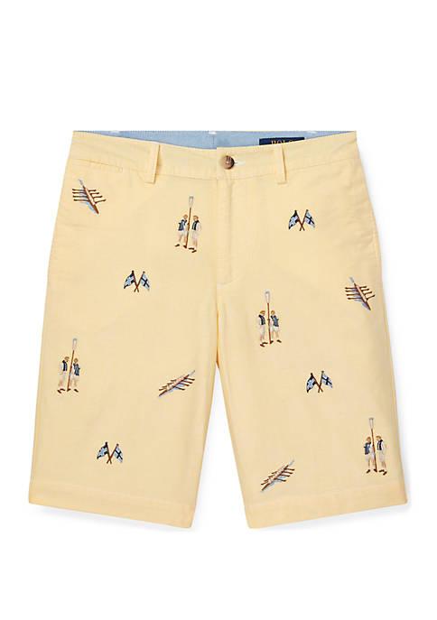 Ralph Lauren Childrenswear Boys 8-20 Slim Fit Cotton