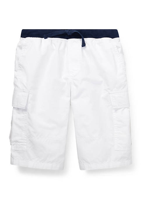 Boys 8-20 Cotton Pull On Cargo Shorts