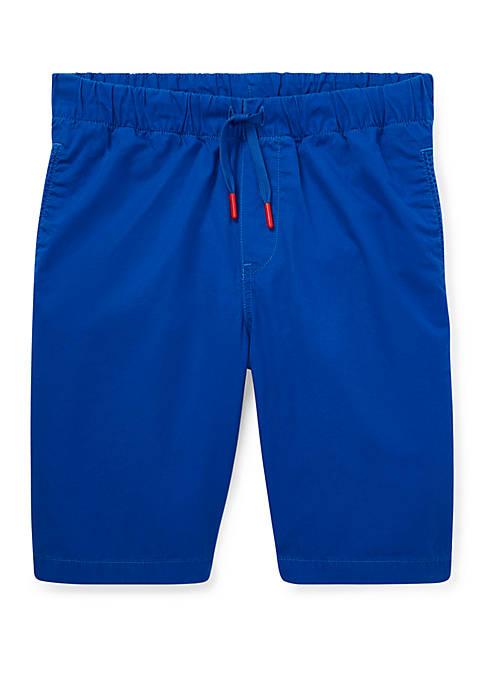 Boys 8-20 Cotton Chino Pull On Shorts