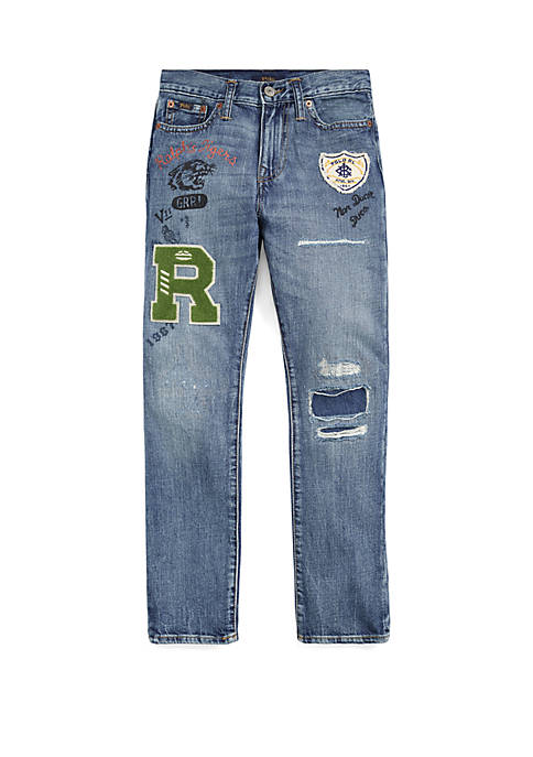 Ralph Lauren Childrenswear Boys 8-20 Sullivan Slim Distressed
