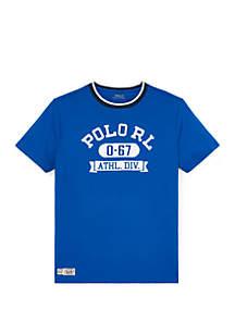 Ralph Lauren Childrenswear Boys 8-20 Cotton Jersey Graphic Tee
