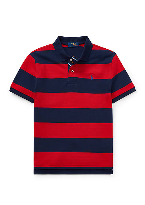 Ralph Lauren Childrenswear Boys 8-20 Striped Cotton Mesh