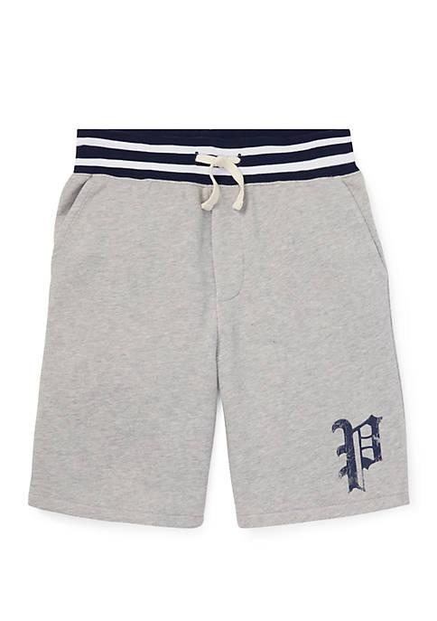 Boys 8-20 Twill Terry Shorts
