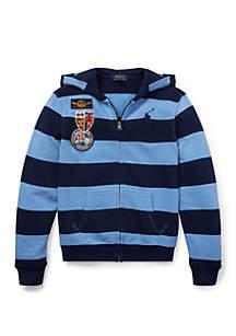 Ralph Lauren Childrenswear Boys 8-20 Cotton French Terry Hoodie