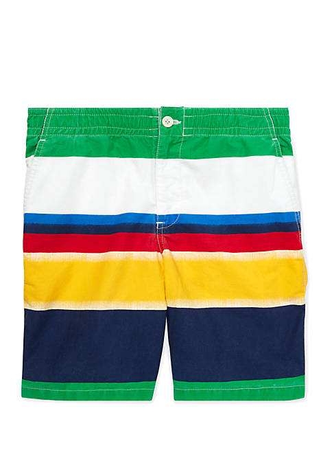 Boys 8-20 Straight Fit Polo Prepster Shorts