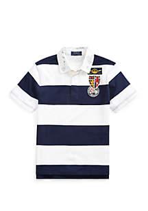 Ralph Lauren Childrenswear Boys 8 - 20 Striped Cotton Rugby Shirt