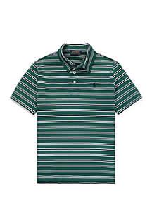 Ralph Lauren Childrenswear Boys 8-20 Performance Lisle Polo Shirt