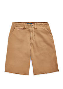 Ralph Lauren Childrenswear Boys 8-20 Cotton French Terry Shorts