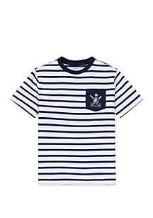 0e7ff2b476e22 ... Ralph Lauren Childrenswear Boys 8-20 Cotton Jersey Graphic T Shirt