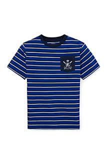 Ralph Lauren Childrenswear Boys 8-20 Cotton Jersey Graphic T Shirt