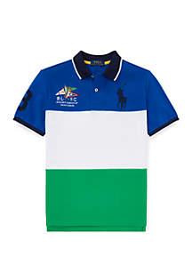 Ralph Lauren Childrenswear Boys 8-20 Cotton Mesh Polo Shirt