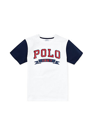 19c8b485cf Ralph Lauren Childrenswear Boys 8-20 Cotton Jersey Graphic Tee