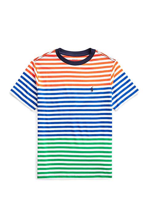 Boys 8-20 Striped Cotton Jersey T Shirt