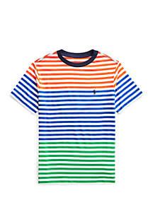 97a726e20 ... Ralph Lauren Childrenswear Boys 8-20 Striped Cotton Jersey T Shirt