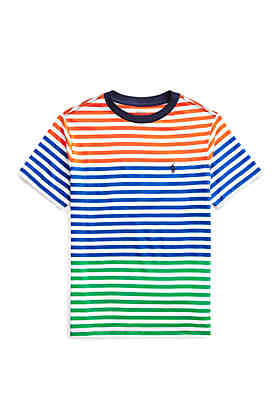 cc00adea Ralph Lauren Childrenswear Boys 8-20 Striped Cotton Jersey T Shirt ...