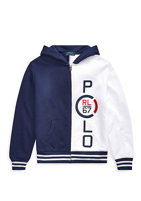 Boys 8-20 RL 67 Cotton French Terry Hoodie