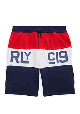 8c42944e1 Ralph Lauren Childrenswear Boys 8-20 Cotton French Terry Shorts ...