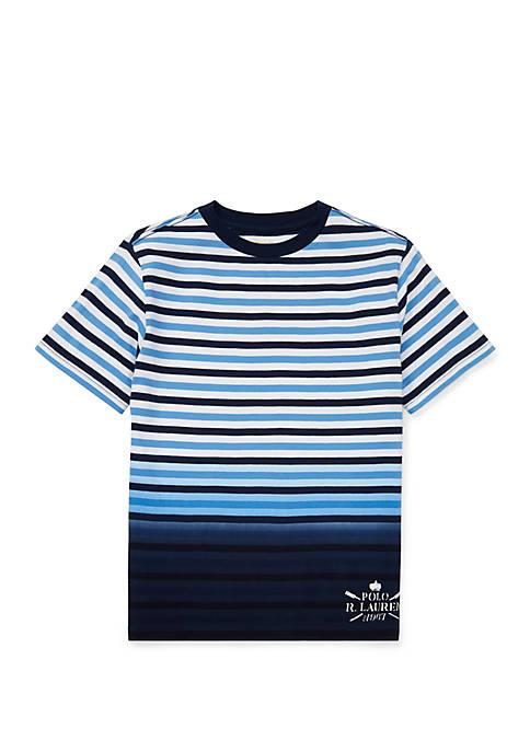 Ralph Lauren Childrenswear Boys 8-20 Ombré Striped Cotton