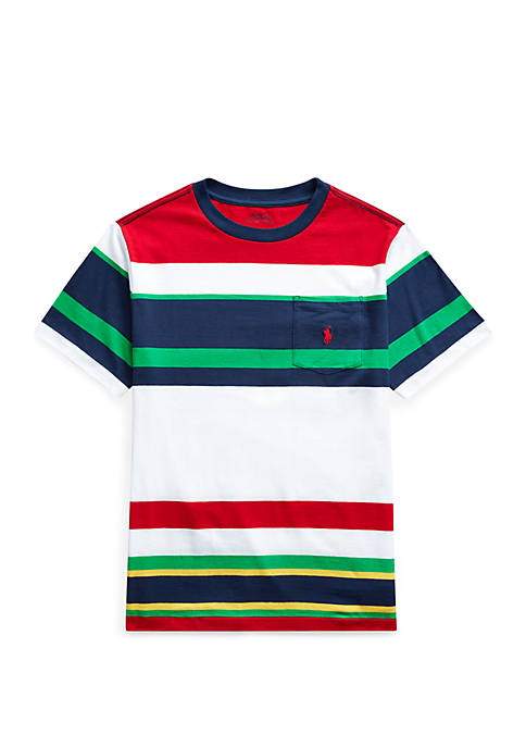 Boys 8-20 Striped Cotton Jersey Tee
