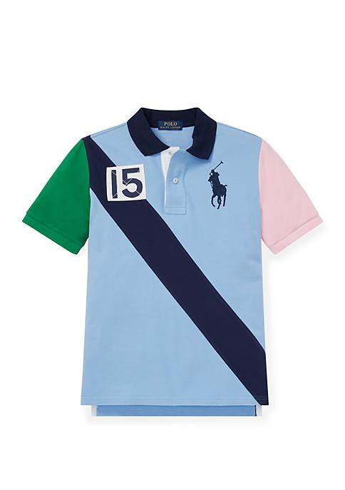 Ralph Lauren Childrenswear Boys 8-20 Cotton Mesh Polo