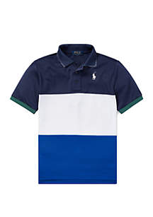 Ralph Lauren Childrenswear Boys 8-20 Tech Mesh Polo Shirt