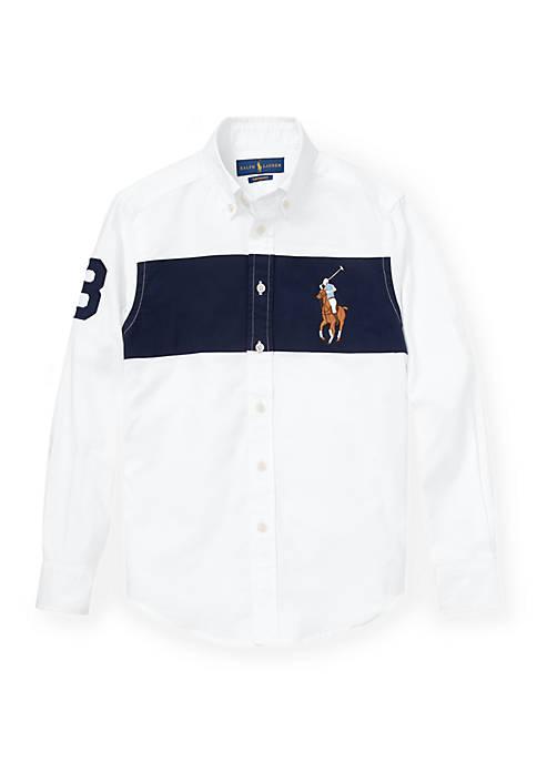 Ralph Lauren Childrenswear Boys 8-20 Performance Oxford Shirt