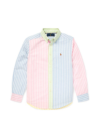 5f8b12fd99 Boys 8-20 Striped Cotton Fun Shirt