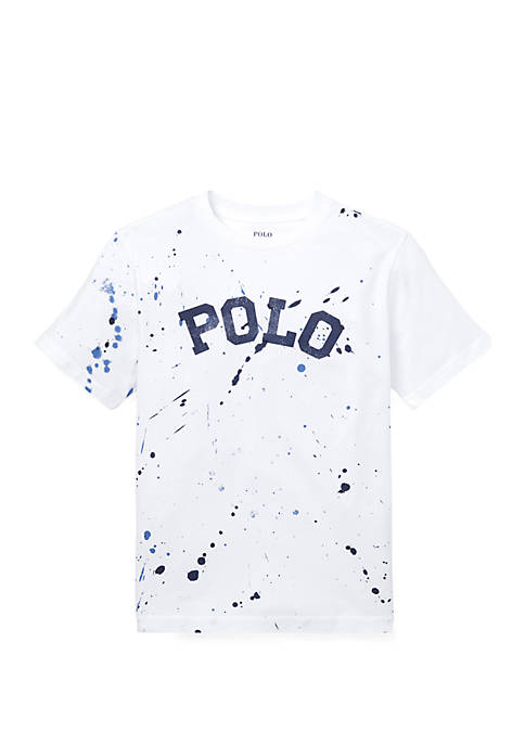 Ralph Lauren Childrenswear Boys 8-20 Paint Splatter Cotton
