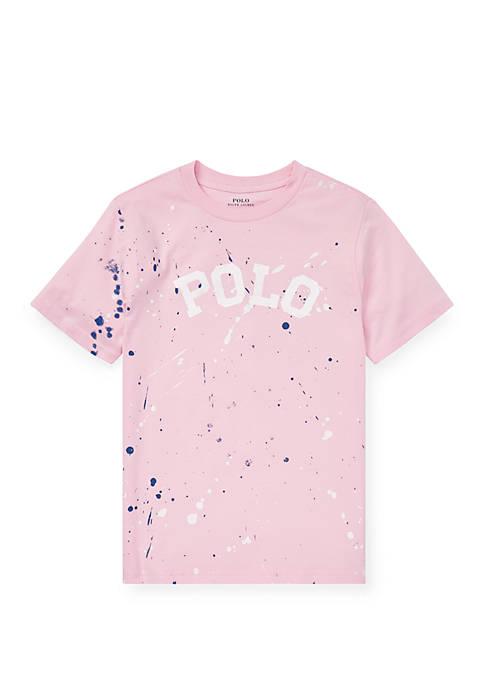 Ralph Lauren Childrenswear Boys 8-20 Paint Splatter Cotton
