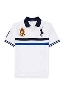 Ralph Lauren Childrenswear Boys 8-20 Classic Fit Cotton Mesh Polo