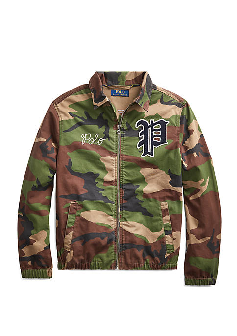 Boys 8-20 Bayport Camo Windbreaker