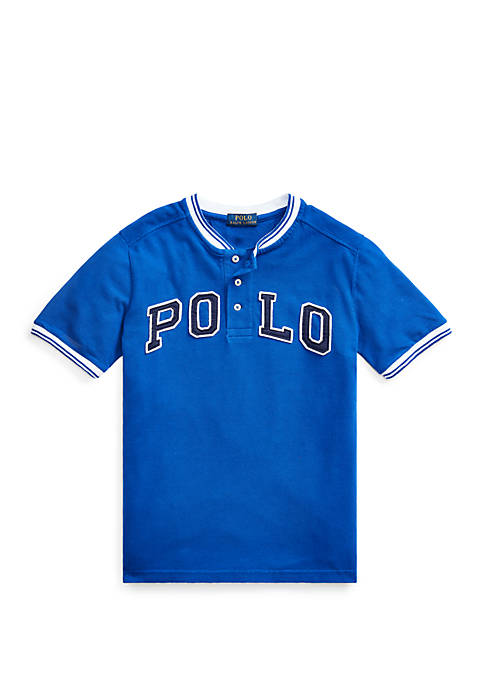 Ralph Lauren Childrenswear Boys 8-20 Polo Cotton Mesh