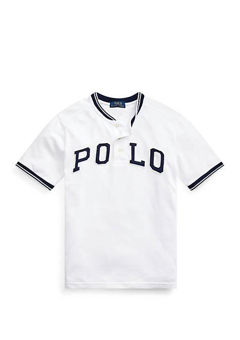 Ralph Lauren Childrenswear Boys 8-20 Polo Cotton Mesh