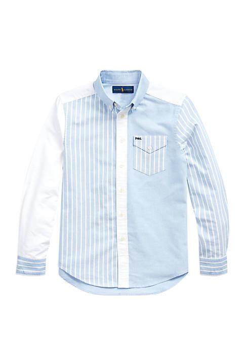 Boys 8-20 Cotton Oxford Fun Shirt