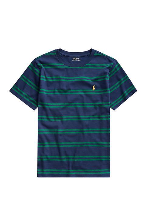 Boys 8-20 Striped Cotton Jersey T-Shirt