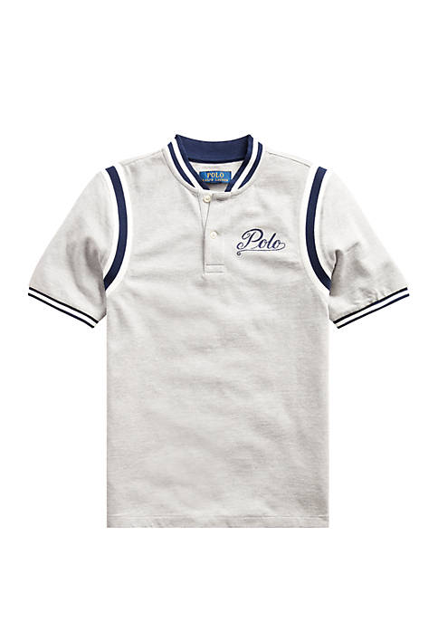 Ralph Lauren Childrenswear Boys 8-20 Cotton Mesh Graphic