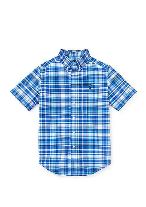 Boys 8-20 Performance Poplin Shirt